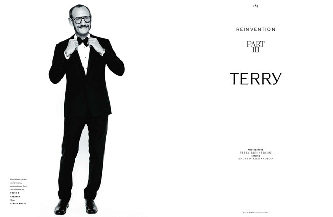 VOGUE HOMMES INTERNATIONAL- Terry Richardson in Reinvention Part III Terry by Terry Richardson. Andrew Richardson, Fall 2011, www.imageamplified.com, Image Amplified1