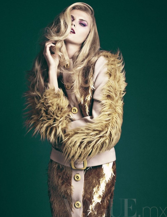 VOGUE MEXICO- Maryna Linchuk by David Roemer. November 2011, Sarah Gore Reeves, www.imageamplified.com, Image Amplified2