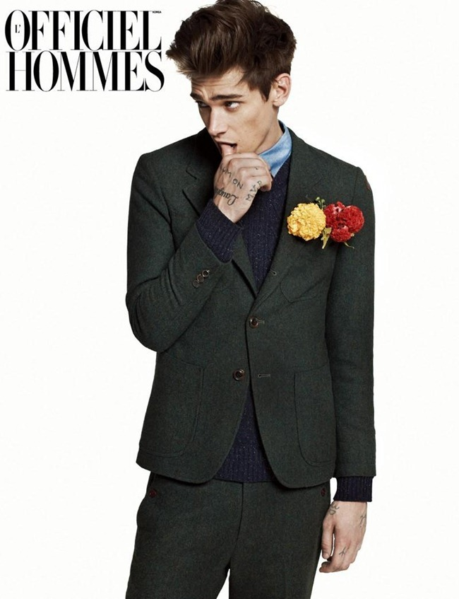 L'OFFICIEL HOMMES KOREA- Cole Mohr by Kim Hyungsik. Bom Lee, www.imageamplified.com, Image Amplified0