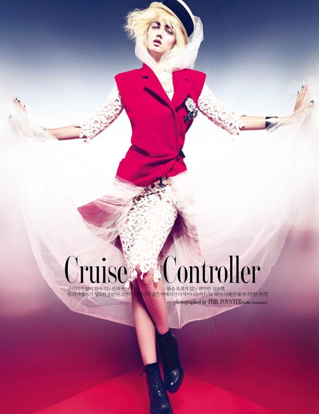 W KOREA Lindsey Wixson in Cruise Controller by Phil Poynter. Mary Alice Stephenson, November 2011, www.imageamplified.com, Image Amplified (1)