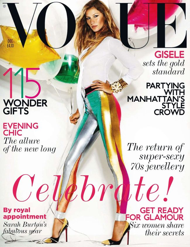 VOGUE UK Gisele Bundchen in She's Electric by Mario Testino. Lucinda Chambers, December 2011, www.imageamplified.com, Image Amplified (4)