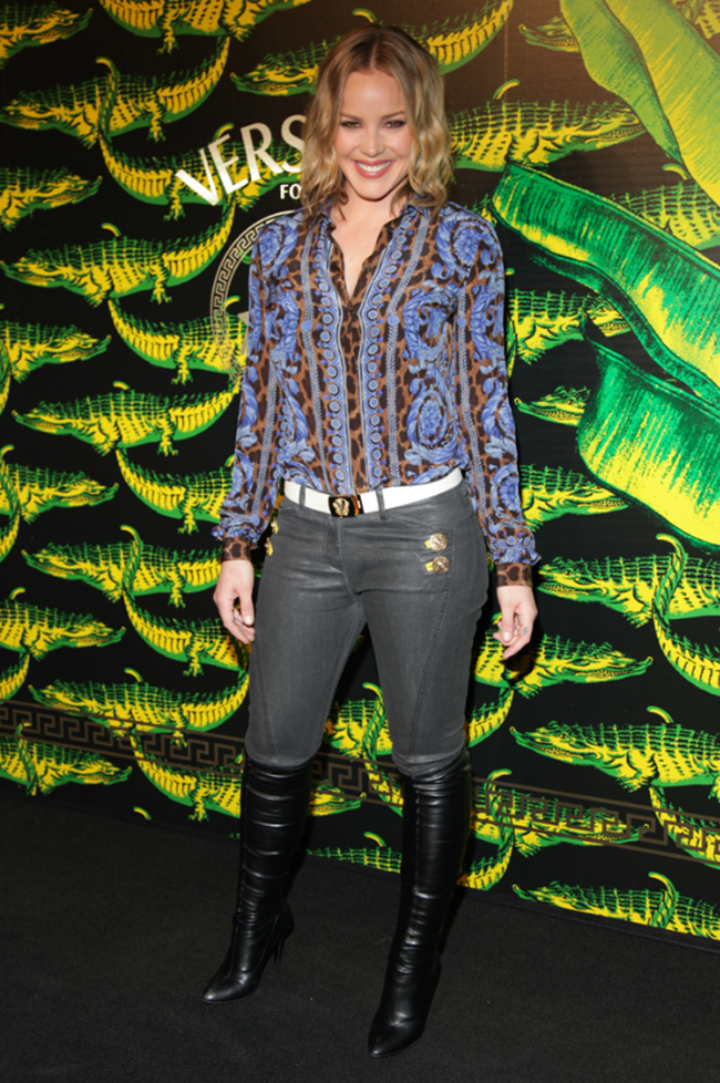VERSACE ON THE HUDSON H&M Celebrates Collaboration With Donatella Versace. www.imageampilfied.com, Image Amplified (17)