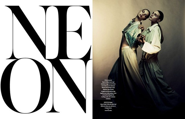 BON MAGAZINE Neon by Peter Gehrke. Marcus Söder, Naomi Itkes, Spring 2012, www.imageamplified.com, Image Amplified (15)