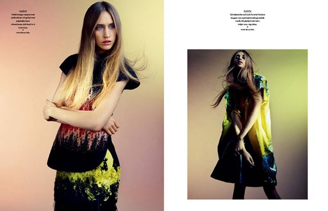 BON MAGAZINE Neon by Peter Gehrke. Marcus Söder, Naomi Itkes, Spring 2012, www.imageamplified.com, Image Amplified (1)
