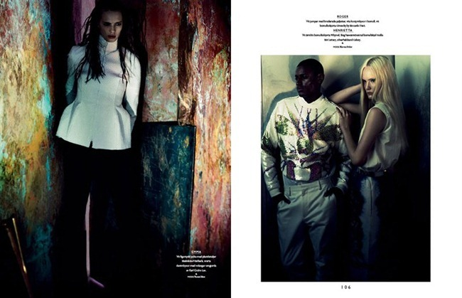 BON MAGAZINE Neon by Peter Gehrke. Marcus Söder, Naomi Itkes, Spring 2012, www.imageamplified.com, Image Amplified (8)