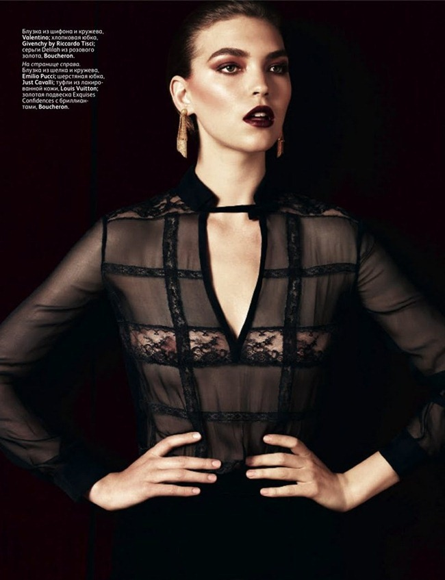 VOGUE RUSSIA- Arizona Muse by Hedi Slimane. December 2011, Sarah Richardson, www.imageamplified.com, Image Amplified0