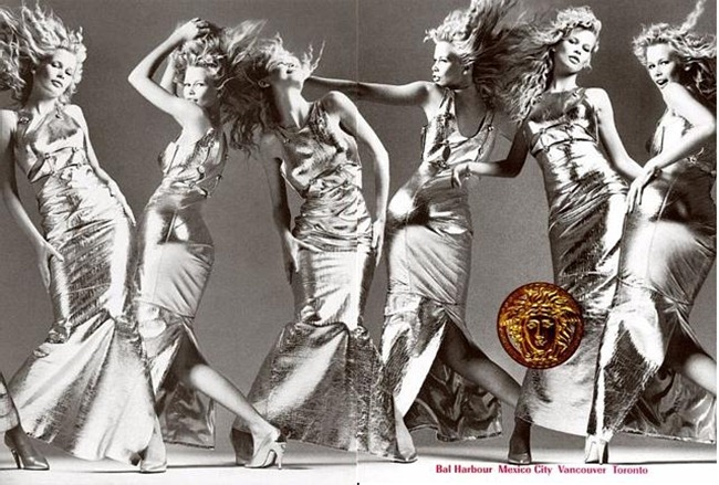 WE ♥ VERSACE- Claudia Schiffer & Cindy Crawford for Versace Fall 1994 by Richard Avedon. www.imageampilfied.com, Image Amplified2 (1)