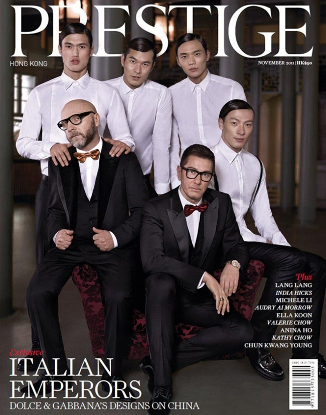PRESTIGE HONG KONG- Domenico Dolce & Stefano Gabbana by Giuliano Bekor. www.imageamplified.com, Image Amplified3