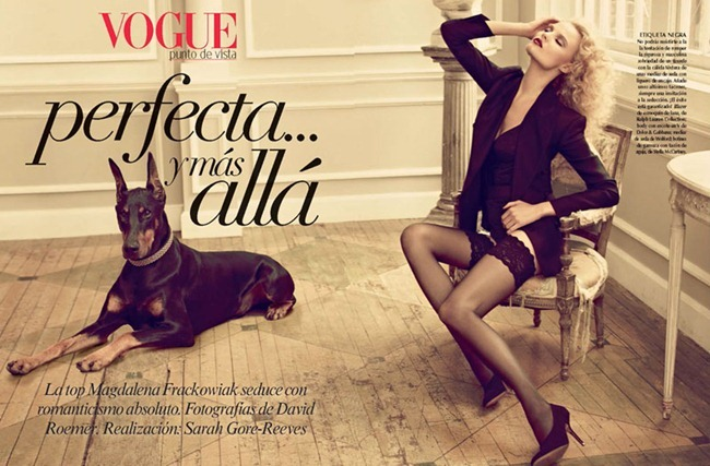 VOGUE MEXICO Magdalena Frackowiak by David Roemer. Sarah Gore Reeves, December 2011, www.imageamplified.com, Image Amplified (2)