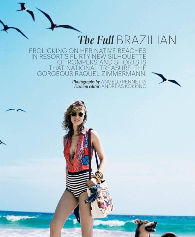 T STYLE MAGAZINE Raquel Zimmermann in The Full Brazilian by Angelo Pennetta. Andreas Kokkino, Fall 2011, www.imageamplified.com, Image Amplified (3)
