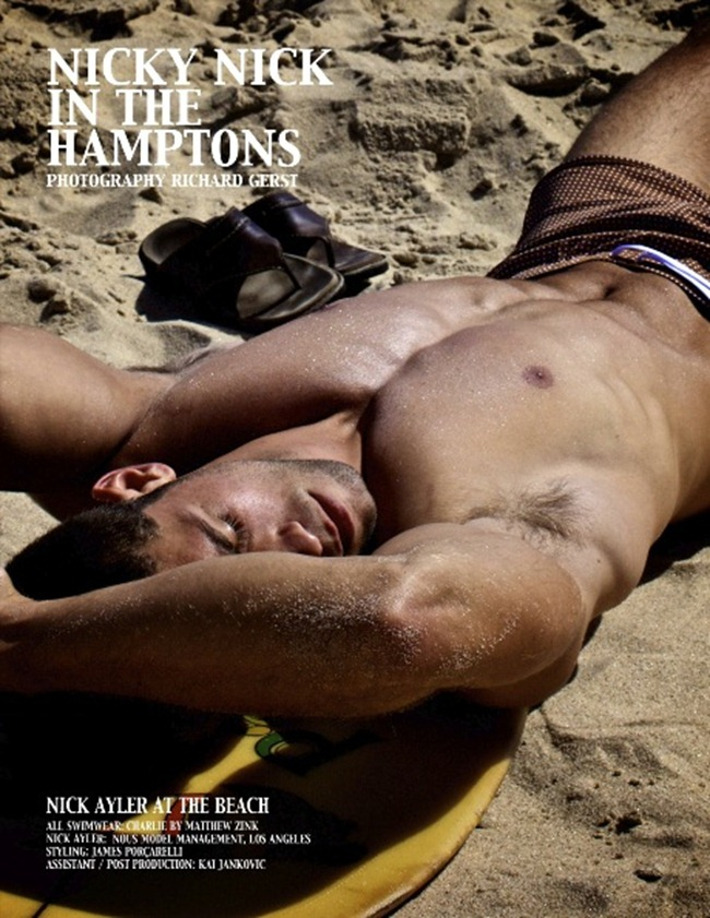 PIN UP BOYS MAGAZINE Nick Ayler in Nicky Nick in the Hamptons by Richard Gerst. www.imageamplified.com, Image Amplified (6)