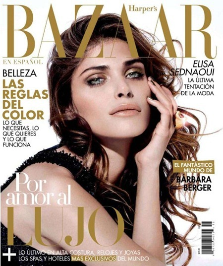 HARPER'S BAZAAR MEXICO Elisa Sednaoui in La Nueva Chica Maravilla by Papo. May 2011, Nirave, www.imageamplified.com, Image Amplified (3)