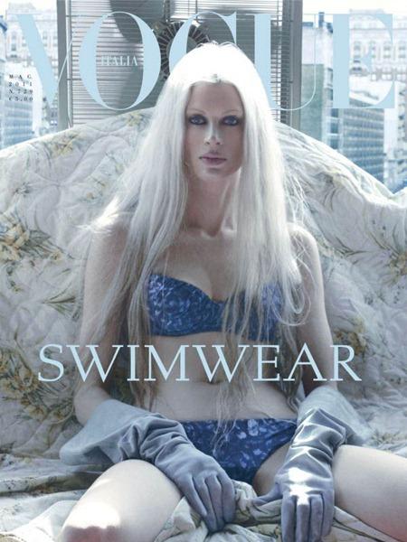 VOGUE ITALIA Kristen McMenamy by Steven Meisel. May 2011, Karl Templer, www.imageamplified.com, Image Amplified (1)