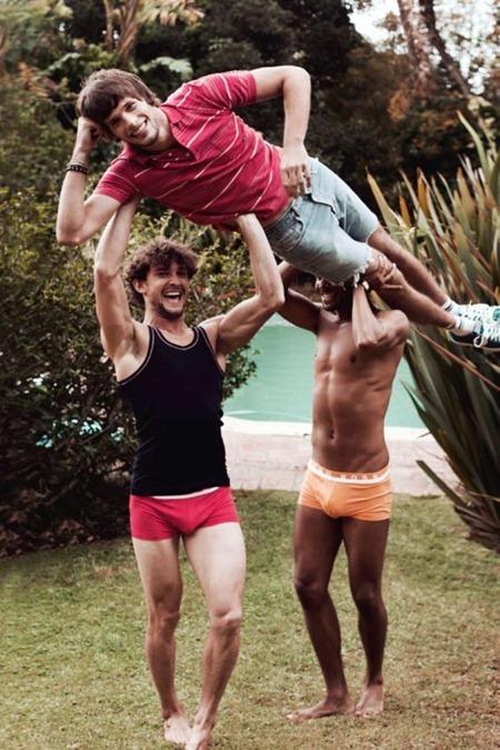 ATTITUDE UK Selfridges Swimwear Portfolio by Mischa Taylor. Summer 2011, Frank Strachan. www.imageamplified.com, Image Amplified (1)
