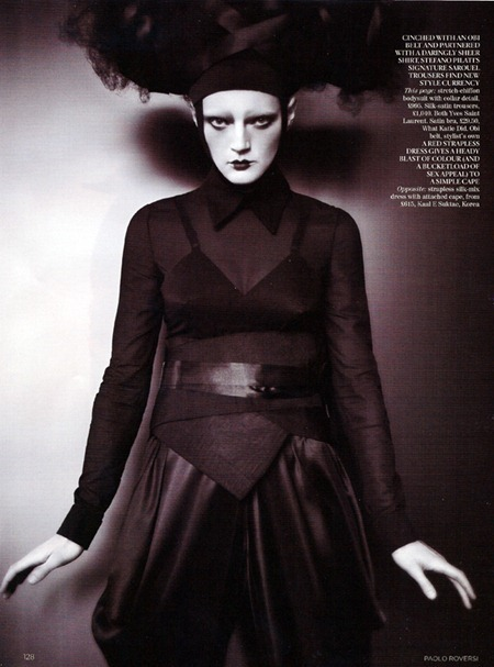VOGUE UK Guinevere Van Seenus by Paolo Roversi. Lucinda Chambers, June 2011, www.imageamplified.com, Image Amplified (4)