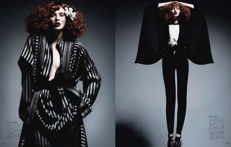 VOGUE JAPAN Karen Elson in In This Tender Light by Daniele & Iango. June 2011, www.imageamplified.com, Image Amplified (3)