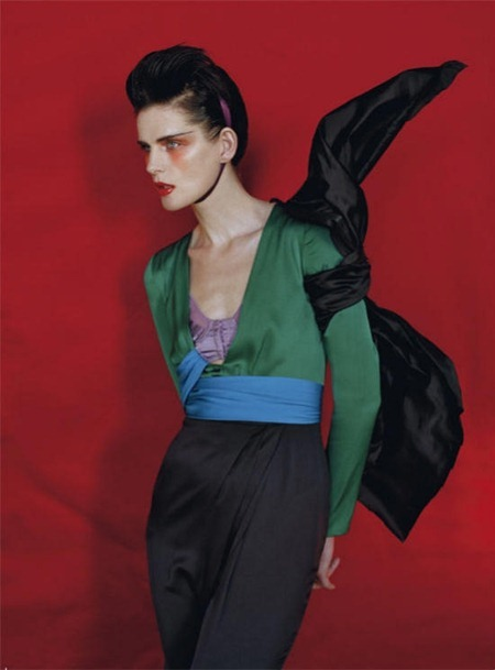 VOGUE ITALIA Stella Tennant in Color Blocks by Tim Walker. Jacob K, May 2011, www.imageamplified.com, Image Amplified (12)