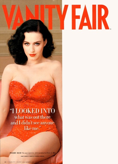 VANITY FAIR MAGAZINE Katy Perry in Katy Perry's Grand Tour by Annie Leibovitz. Jessie Diehl, June 2011, www.imageamplified.com, Image Amplified (2)
