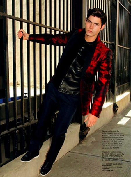 STYLE MEN MAGAZINE Sam Way in Red Alert by Joe Lally. Joseph Episcopo, www.imageamplified.com, Image Amplified (2)
