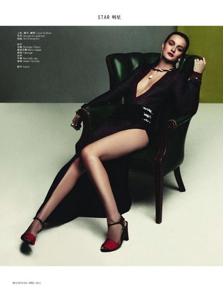 L'OFFICIEL CHINA Leighton Meester in Queen B by Alexey Yurenev. Peju Famojure, www.imageamplified.com, Image Amplified (5)