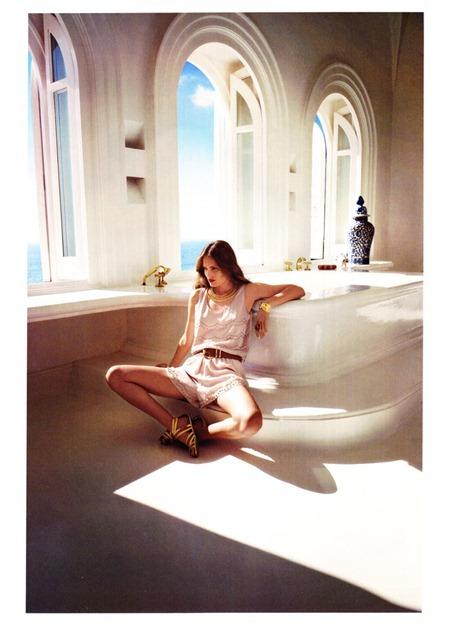 H&M MAGAZINE Alla Kostromicheva by Cedric Buchet. Ludivine Poiblanc, Summer 2011, www.imageamplified.com, Image Amplified (4)