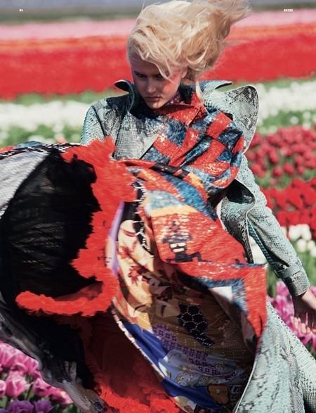 DAZED & CONFUSED MAGAZINE Lisanne de Jong in In Bloom by Viviane Sassen. July 2011, Kate Shillingford, www.imageamplified.com, Image Amplified (1)