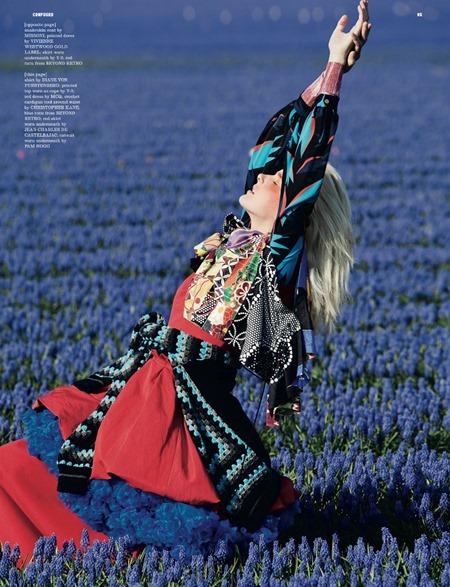 DAZED & CONFUSED MAGAZINE Lisanne de Jong in In Bloom by Viviane Sassen. July 2011, Kate Shillingford, www.imageamplified.com, Image Amplified (2)