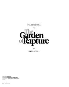 HAUTE LIVING Eva Longoria in The Garden of Rapture by Greg Lotus. July 2011, www.imageamplified.com, Image Amplified (7)