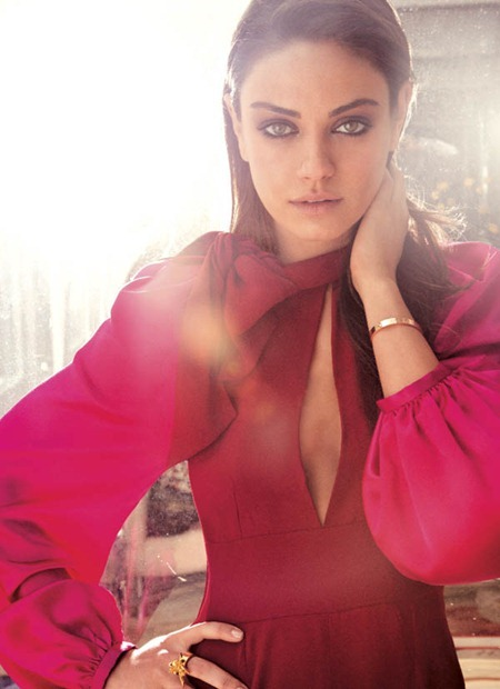 PREVIEW Mila Kunis for Flare, August 2011 by Tony Duran. Elizabeth Cabral, www.imageamplified.com, Image Amplified (1)