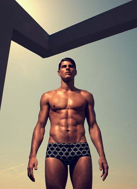 Picture About Brazilian Male Model Evandro Soldati  Captured by Santiago Sierra for W Mag