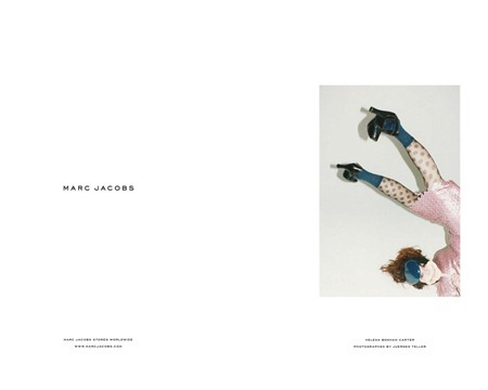 CAMPAIGN Helena Bonham Carter for Marc Jacobs Fall 2011 by Juergen Teller. www.imageamplified.com, Image Amplified
