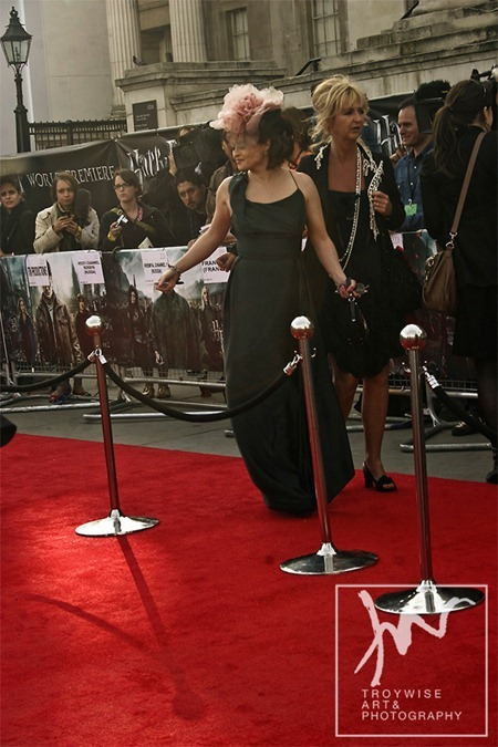 IA AT THE HARRY POTTER AND THE DEATHLY HALLOWS 2 PREMIERE IN LONDON: Photos of Helena Bonham Carter by Troy Wise. Rick G, www.imageamplified.com, Image Amplified