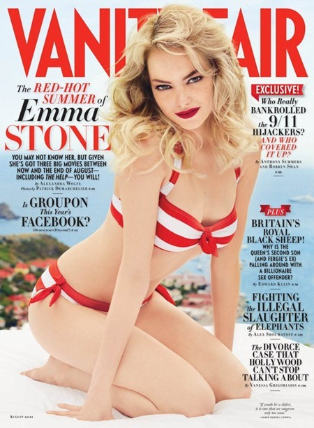 VANITY FAIR MAGAZINE Emma Stone in Hollywood Is Her Oyster by Patrick Demarchelier. August 2011, www.imageamplified.com, Image Amplified (5)