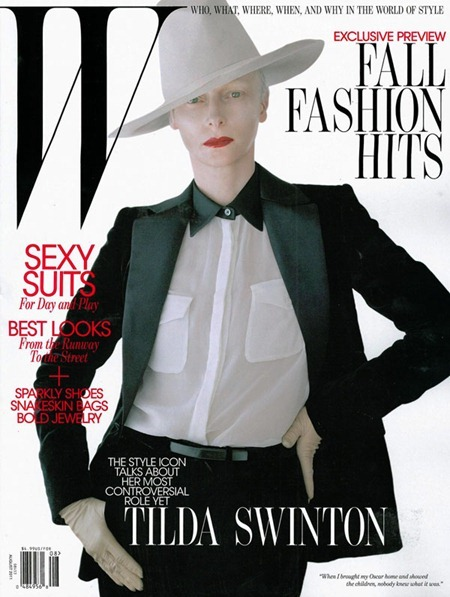 PREVIEW Tilda Swinton for W Magazine, August 2011 by Tim Walker. www.imageamplified.com, Image Amplified