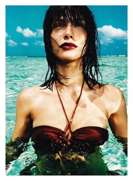 HARPER'S BAZAAR SPAIN Elisa Sednaoui by Nico. Juan Cabrian, July August 2011, www.imageamplified.com, Image Amplified (4)
