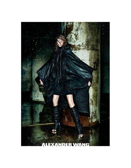 CAMPAIGN Raquel Zimmermann for Alexander Wang Fall 2011 by Fabien Baron. www.imageamplified.com, Image Amplified (3)
