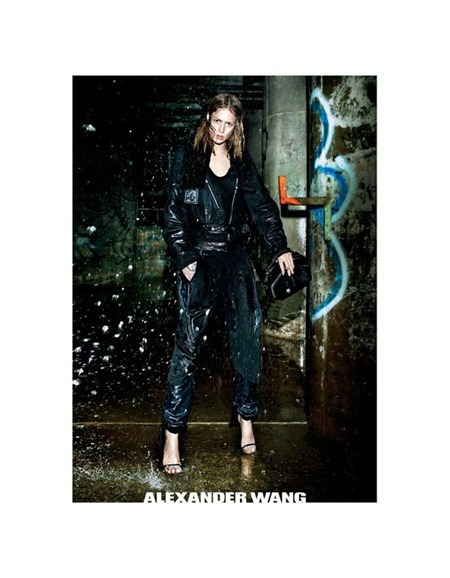 CAMPAIGN Raquel Zimmermann for Alexander Wang Fall 2011 by Fabien Baron. www.imageamplified.com, Image Amplified (4)