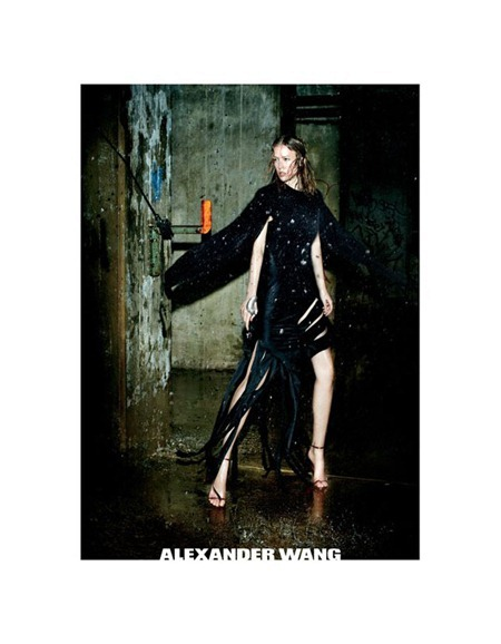 CAMPAIGN Raquel Zimmermann for Alexander Wang Fall 2011 by Fabien Baron. www.imageamplified.com, Image Amplified (2)