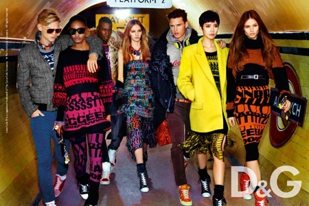 CAMPAIGN Melodie Monrose, Tao Okamoto, Aiste Kliveckaite & Marique Schimmel for D&G Fall 2011 by Mario Testino. www.imageamplified.com, Image Amplified (2)