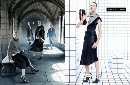CAMPAIGN Liya Kebede, Julia Nobis & Juliane Gruner for Balenciaga Fall 2011 by Steven Meisel. www.imageamplified.com, Image Amplified (4)