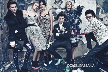 CAMPAIGN Liu Wen, Isabeli Fontana, Maryna Linchuk, Constance Jablonski, Jac Jagaciak & Kate King for Dolce & Gabbana Fall 2011 by Steven Klein. www.imageamplified.com, Image Amplified (3)