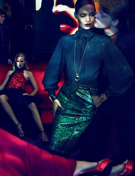 CAMPAIGN Joan Smalls, Abbey Lee Kershaw, Emily Baker & Sigrid Agren for Gucci Fall 2011 by Mert & Marcus. www.imageamplified.com, Image Amplified (3)