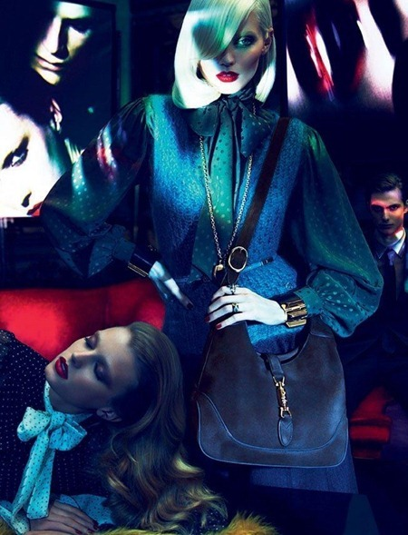 CAMPAIGN Joan Smalls, Abbey Lee Kershaw, Emily Baker & Sigrid Agren for Gucci Fall 2011 by Mert & Marcus. www.imageamplified.com, Image Amplified (11)