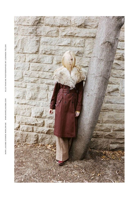 CAMPAIGN Elle Fanning for Marc by Marc Jacobs Fall 2011 by Juergen Teller. www.imageamplified.com, Image Amplified (8)