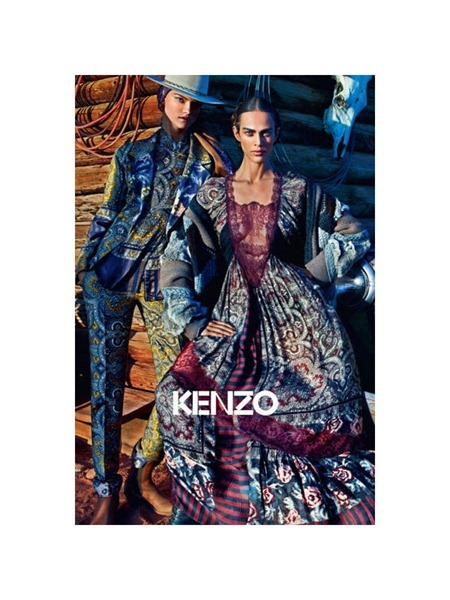 CAMPAIGN Aymeline Valade & Kasia Struss for Kenzo Fall 2011 by Mario Sorrenti. www.imageamplified.com, Image Amplified (3)