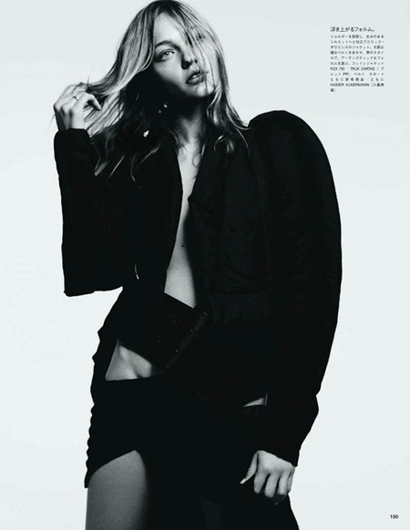 VOGUE JAPAN Sasha Pivovarova in Tough Love by Hedi Slimane. August 2011, www.imageamplified.com, Image Amplified (8)