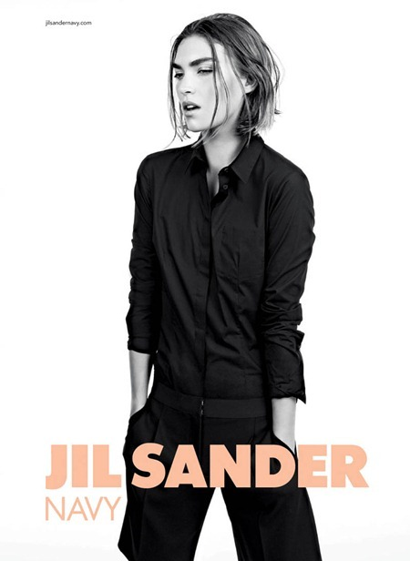 CAMPAIGN Arizona Muse for Jil Sander Navy Fall 2011 by Willy Vanderperre. Olivier Rizzo, www.imageamplified.com, Image Amplified (1)
