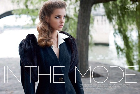 VOGUE AUSTRALIA Barbara Palvin in In the Mode by Eric Guillemain. September 2011, www.imageamplified.com, Image Amplified (2)