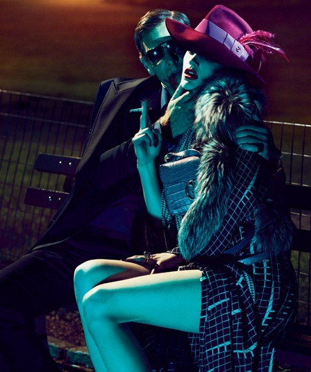 INTERVIEW MAGAZINE Saskia de Brauw & Marique Schimmel in Gucci by Mert & Marcus. Karl Templer, www.imageamplified.com, Image Amplified (1)