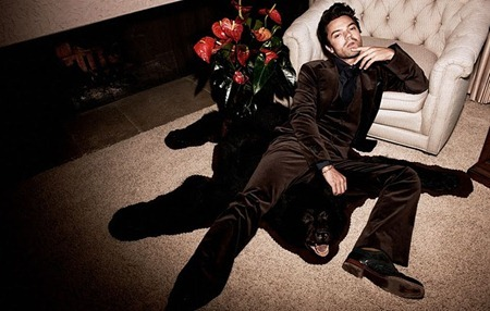 FLAUNT MAGAZINE Dominic Cooper in Infernal Sentience by Yu Tsai. www.imageamplified.com, image Amplified (2)